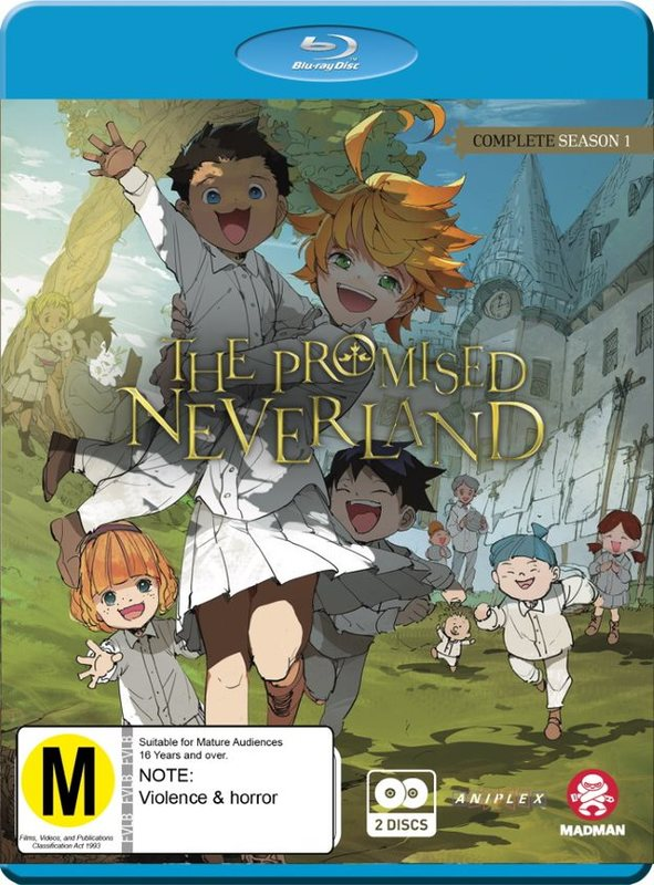 The Promised Neverland - Complete Season 1 on Blu-ray