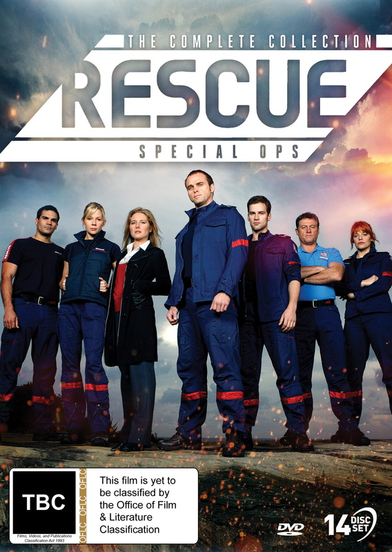 Rescue Special Ops: The Complete Collection on DVD
