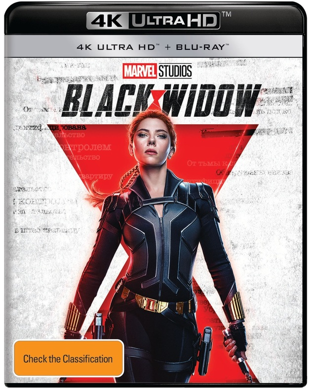 Black Widow (4K UHD + Blu-Ray) on UHD Blu-ray