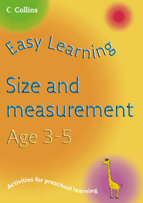 Size and Measurement Age 3-5 by Carol Medcalf