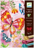Djeco: Design - Glitter Boards Butterflies