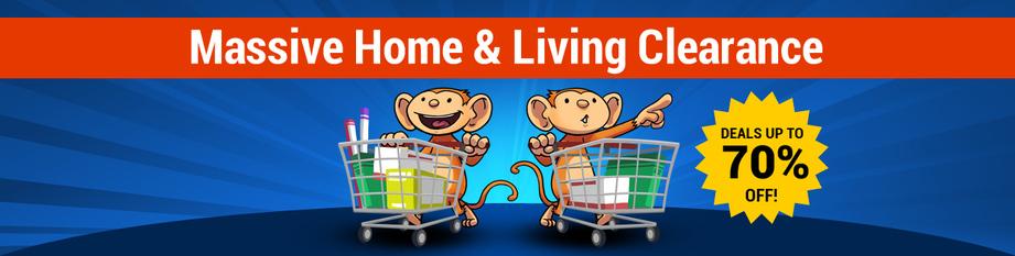 Massive Home & Living Clearance Sale