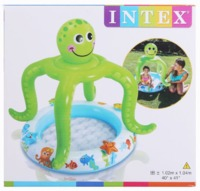Intex: Smiling Octopus - Shaded Baby Pool