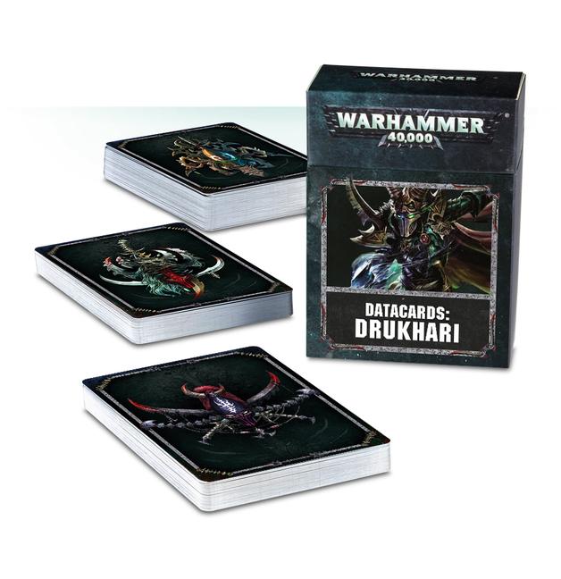 Warhammer 40,000 Datacards: Drukhari
