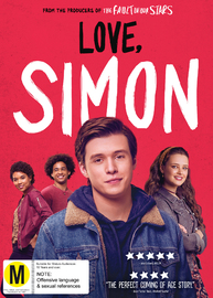 Love, Simon on DVD image
