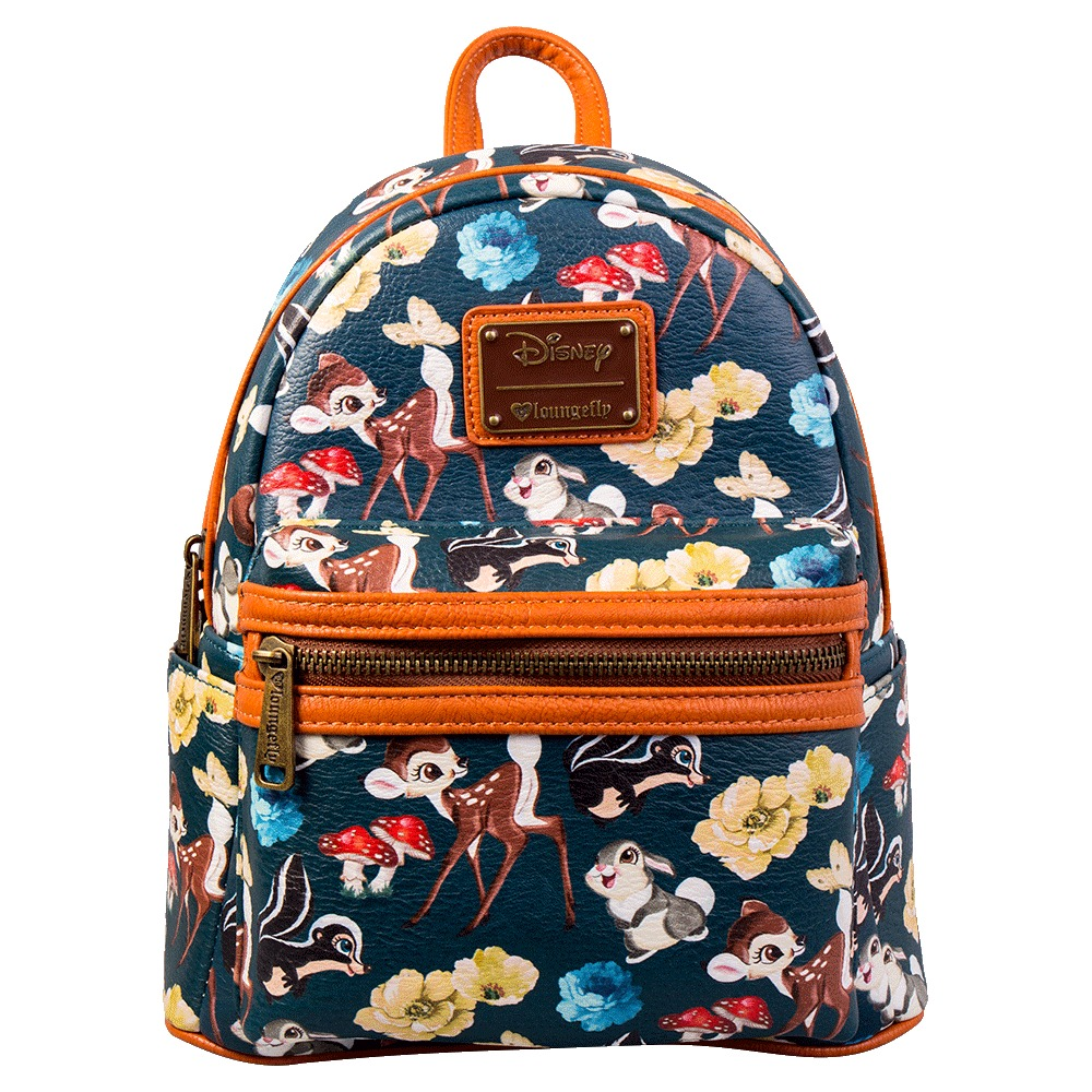 db7d80291b3 Loungefly  Disney Bambi   Friends - Mini Backpack image ...