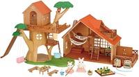 Sylvanian Families: Treehouse & Log Cabin - Gift Set