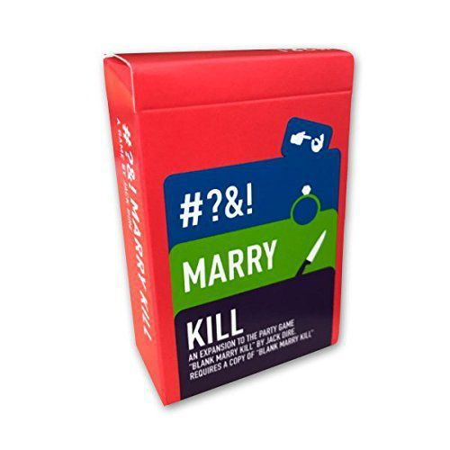 Blank Marry Kill - R-Rated Edition
