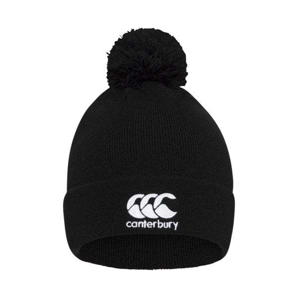 Canterbury: Mens Classics - Bobble Hat (Black)