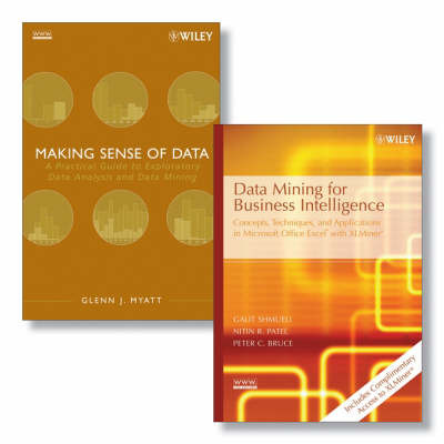 Data Mining for Business Intelligence: Concepts, Techniques, and Applications in Microsoft Office Excel with XLMiner: AND Making Sense of Data by Galit Shmueli image