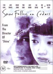 Snow Falling On Cedars on DVD