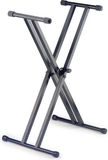Stagg Dual X Style Keyboard Stand (Black)
