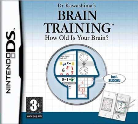 Brain Training: How Old Is Your Brain? (aka Brain Age: Train Your Brain in Minutes a Day) for Nintendo DS