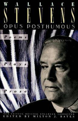 Opus Posthumous by Wallace Stevens image