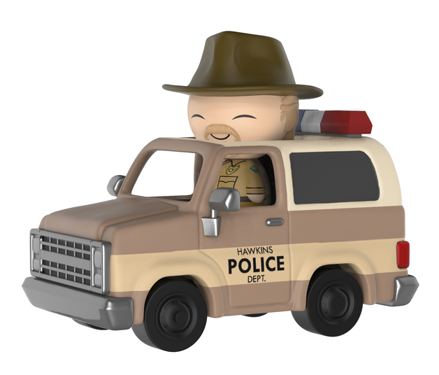 Stranger Things: Hopper & Sheriff Wagon Dorbz Ridez Vinyl Figure