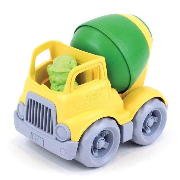 Green Toys: Construction Mixer - Yellow
