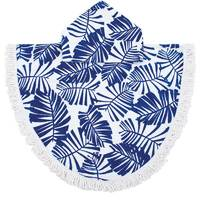 Bambury Printed Shaped Poncho Pal (Holiday Ultramarine)