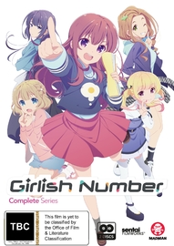 Girlish Number Complete Series on DVD