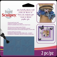 Sculpey: Silicone Bakeable Mould - Geo Butterfly