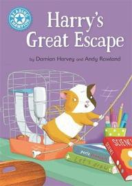 Reading Champion: Harry's Great Escape by Damian Harvey image