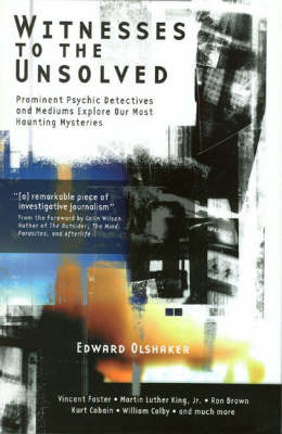 Witnesses to the Unsolved by Edward Loshaker image