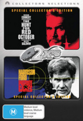 2x's - Hunt For Red October / Patriot Games (Collectors Selections) (2 Disc Set) on DVD