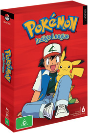 Pokemon - Season 1: Indigo League on DVD image