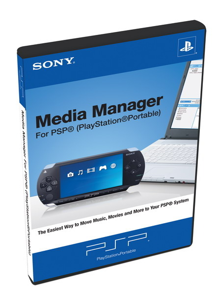 Multi Media Manager for PSP