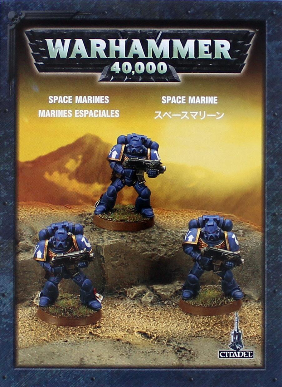 Warhammer 40,000 Space Marines image