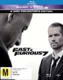 Fast and Furious 7 O-Ring on Blu-ray