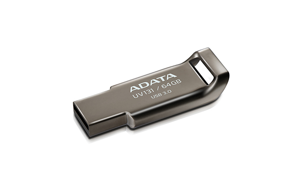 64GB ADATA UV131 Classic USB 3.0 Flash Drive (Chromium Grey) image