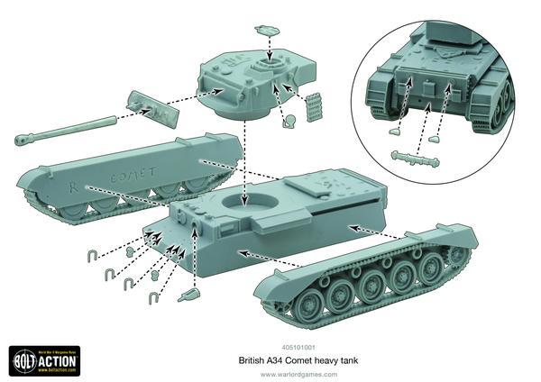 A34 Comet heavy tank image