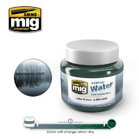 Acrylic Water- Lake Waters (250ml)