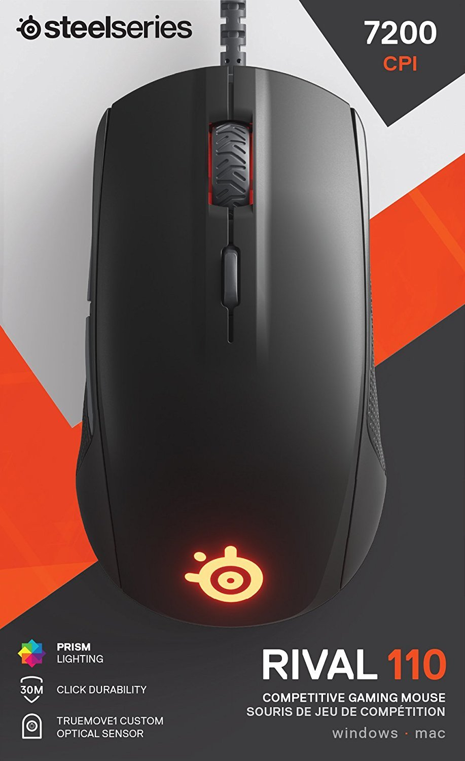 SteelSeries Rival 110 Gaming Mouse for PC Games image
