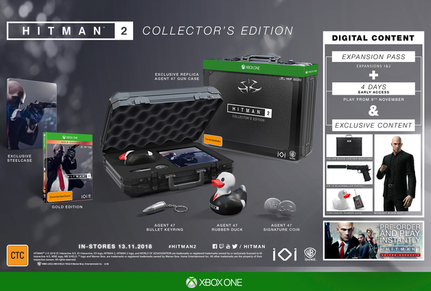Hitman 2 Collector's Edition for Xbox One