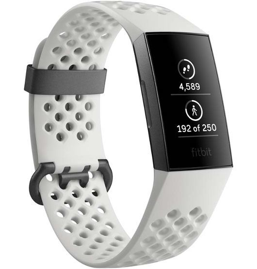 Fitbit Charge 3 Special Edition White / Graphite Aluminum image