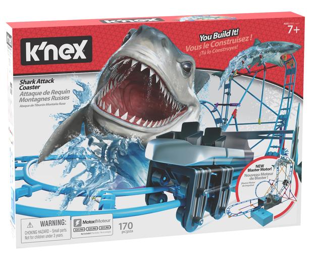 K'Nex: Shark Attack Roller Coaster - Building Set