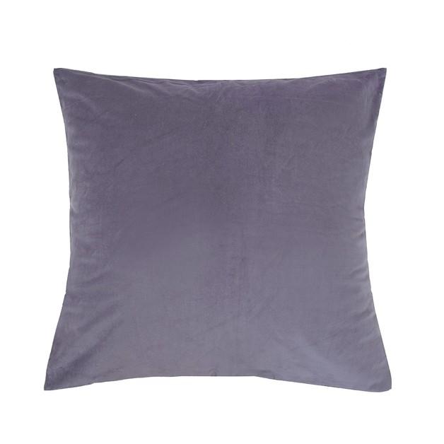 Bambury: Velvet European Pillowcase - Wisteria