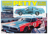 MPC Richard Petty Stock Car Charger 1/16 Model Kit