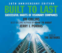 Built to Last: Successful Habits of Visionary Companies by James Collins image