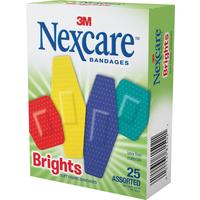 Nexcare Brights Comfort Strips (25pk)