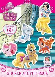 Palace Pets Sticker Activity Book