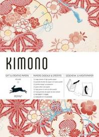 Pepin Press: Giftwrap & Creative Papers - Kimono by Pepin Van Roojen