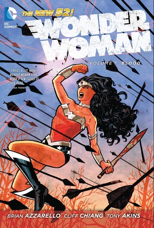 Wonder Woman Vol. 1 by Brian Azzarello