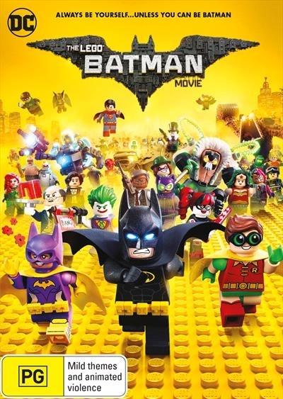 The Lego Batman Movie on DVD image