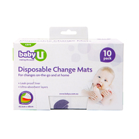 Baby U Disposable Change Mat (10pk)