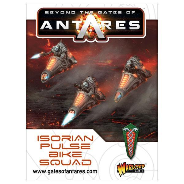 Beyond the Gates of Antares: Isorian Pulse Bike Squad