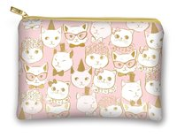 Lady Jayne Glam Cosmetic Bag - Fancy Cats