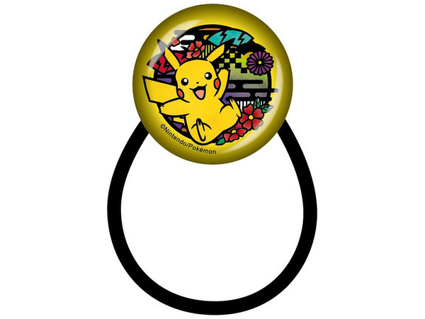 Pokemon: Kirie Series - Hair Tie (Pikachu B)