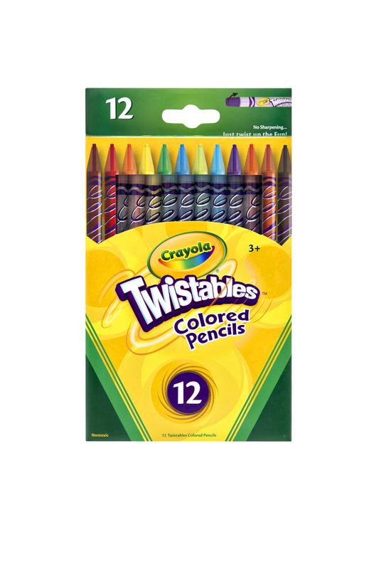 Crayola: 12 Twistables Coloured Pencils